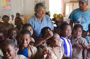 Hilary Bradt, Patron of Money for Madagascar and guide-book legend