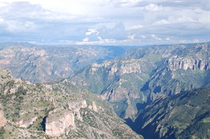 Dramatic Copper Canyon