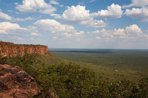 Panorama from Waterberg National Park, Namibia