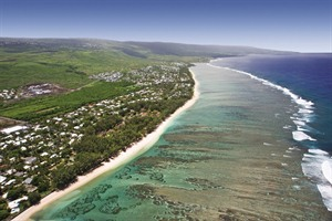 The stunning beaches of Reunion