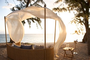 Beach relaxation at LUX* lle de la Reunion