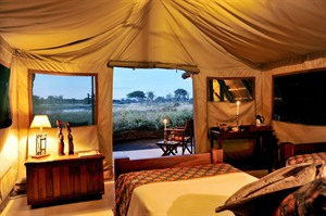 The Hide in Hwange National Park
