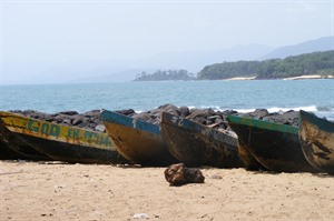 Freetown Peninsula coastline