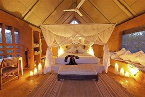 Garonga Safari Camp - tented room
