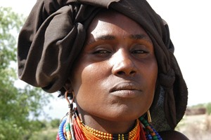 Arbore woman portrait