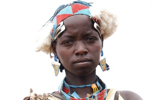 Tsemay woman portrait