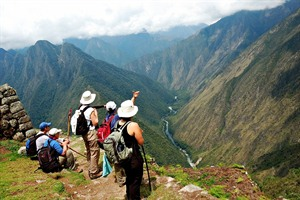 Walking in the Andes