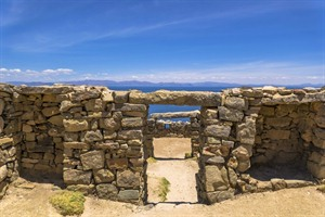 Moon Island, Lake Titicaca