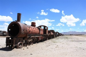 Train cemetry Uyuni