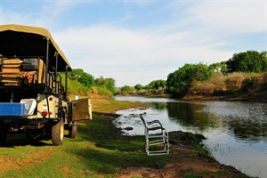 River safari with a traditional sundowner