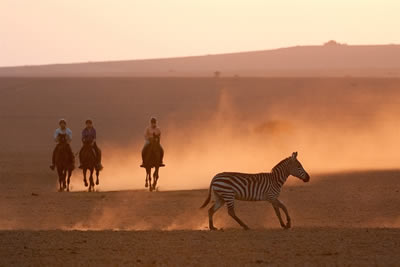 Kenya Big Game Riding Safari